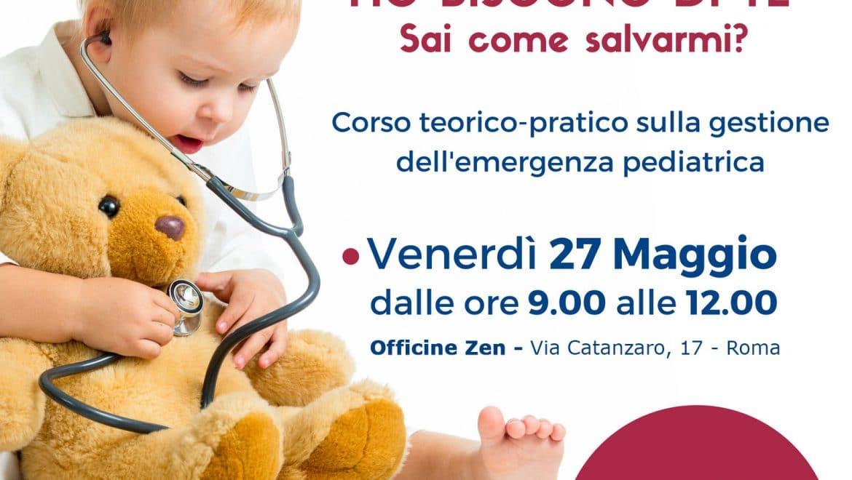 Corso manovre di disostruzione e primo soccorso pediatrico