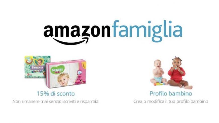 Bebè in arrivo: ti aiuta Amazon Famiglia